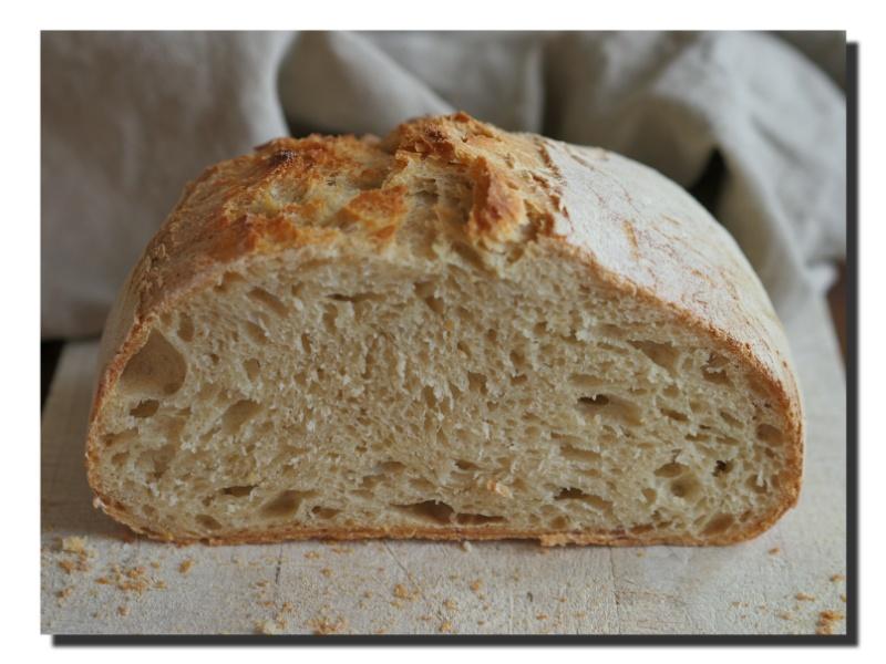 """""""italienisches"""" Brot mit Hartweizen"""