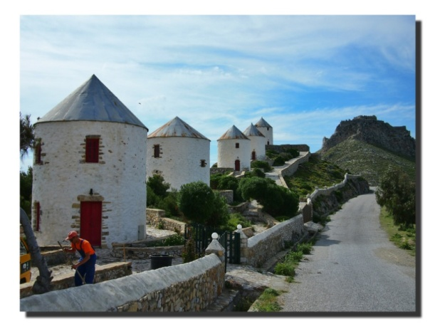Windmühlen auf Leros