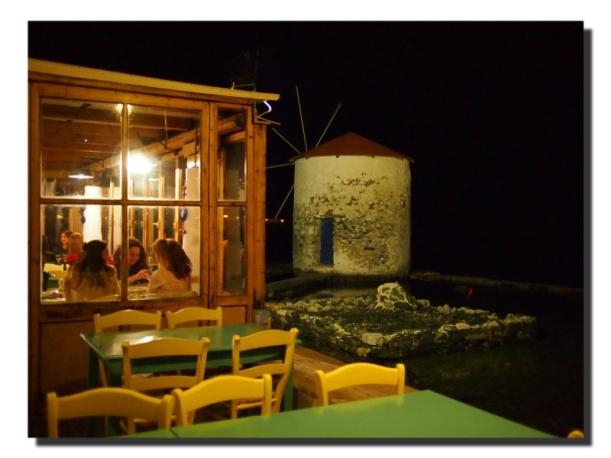 Das Restaurant Mylos auf Leros